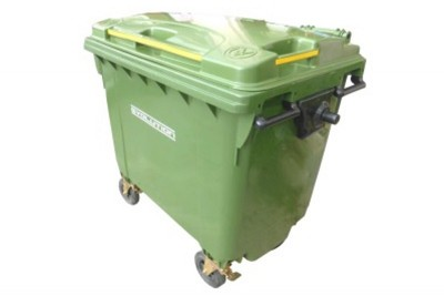 Mobile Garbage Bin 4-Wheel (660 liters)