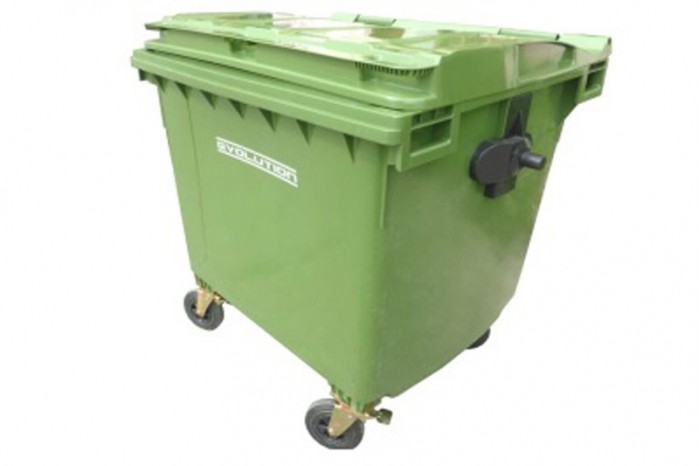 Mobile Garbage Bin 4-Wheel (1100 liters)