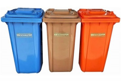 Schaefer Mobile Garbage Bin 2-Wheel (3 in 1)