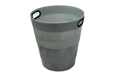Room Bin Round Grey