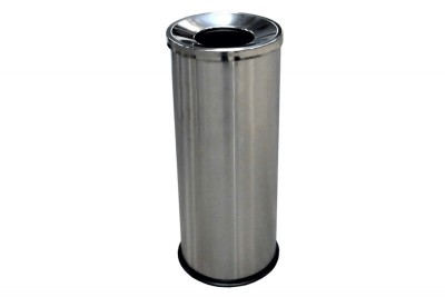 Stainless Steel Bin Round c/w Open Top