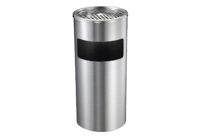 Stainless Steel Bin Round c/w Ashtray Top