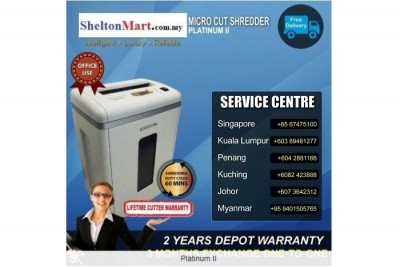 Medium Duty Paper Shredder PlatinumII