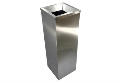 Stainless Steel Bin Square c/w Open Top