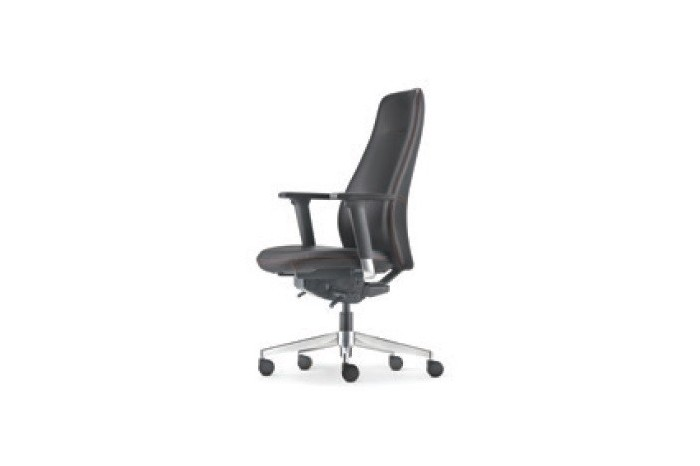 Eve Series - Aluminium Base (4D Aluminium Adjustable Armrest)