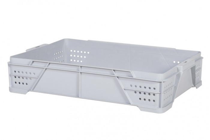 Industrial Stackable Tray - Grey