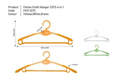 Cloth Hanger 2272 – 4 in 1