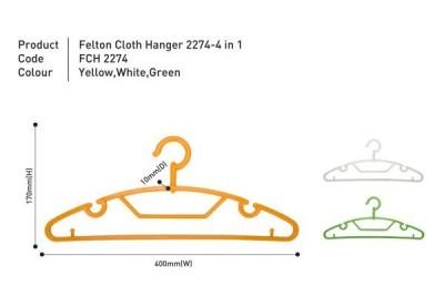 Cloth Hanger 2274 – 4 in 1