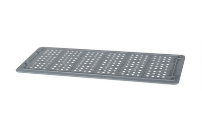 Industrial Stackable Tray Lid - Grey