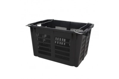 Industrial Stackable Basket 933 (Black)