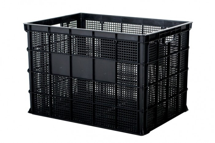 Industrial Stackable Basket - Black