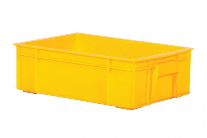 Industrial Stackable Container - Yellow