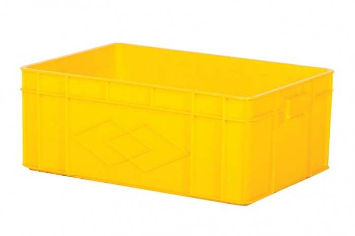 Industrial Stackable Container -Yellow