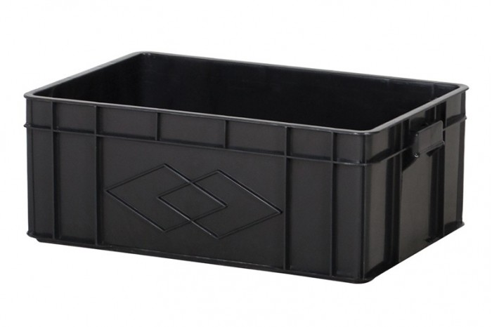 Industrial Stackable Container - Black