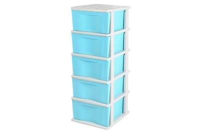 5 Tiers Trendy Drawer -Blue / Purple