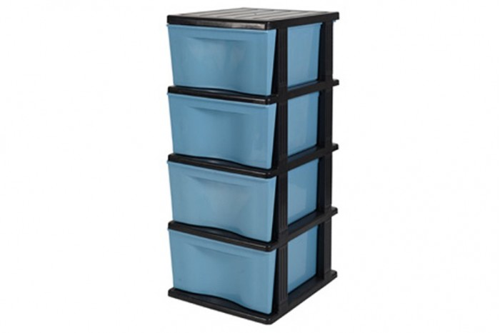 4 Tiers Trendy Drawer (Solid)