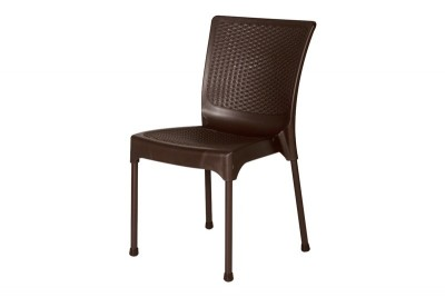 Bamboo Chair Steel Leg