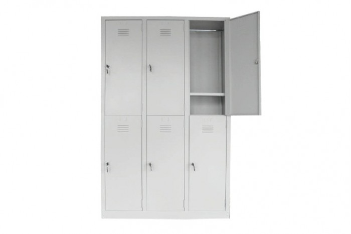 6 Compartment Steel Locker (Multiple Locker)