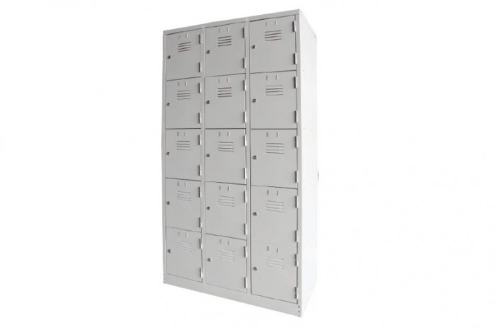 15 Compartment Steel Locker (Multiple Locker)