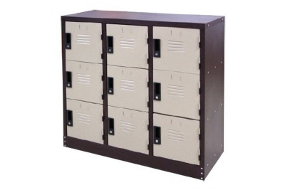 9 Compartment Steel Locker (Half Height Locker)