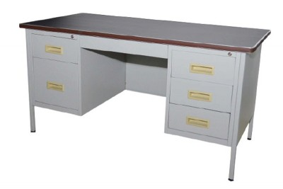 5' Double Pedestal Desk