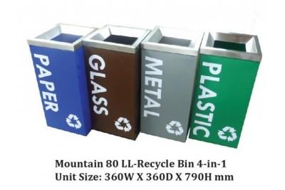 Mountain 80 LL-Recycle Bin 4-in-1