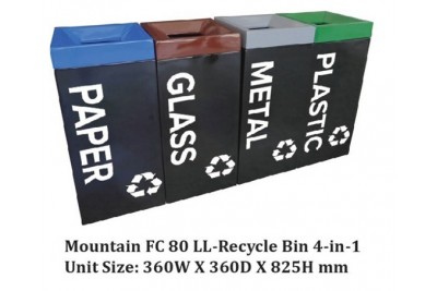 MOUNTAIN FC 80 LL-RECYCLE BIN 4-IN-1