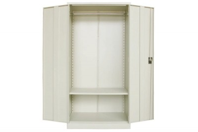 Full Height Cupboard with Steel Swinging Door c/w  1 H.Bar(Top) 1 Shelves(Btm)