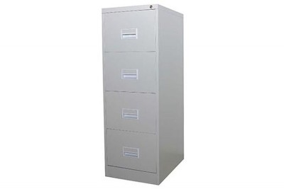 4 Drawer Filling Cabinet With Recess Handle c/w Ball Bearing Slide