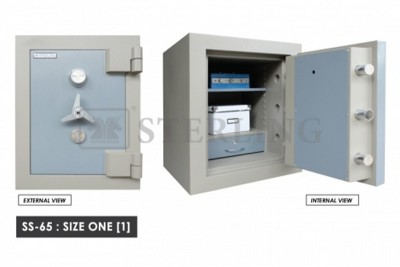 Banker Safe Size One Secured by Keylock & Combination Lock