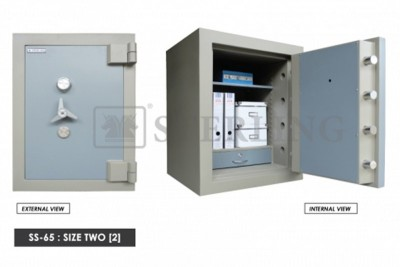 Banker Safe Size Two Secured by Keylock & Combination Lock
