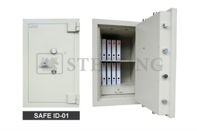 Safe ID 1 with Additional 2 Moving Bolts on Each Top & Bottom