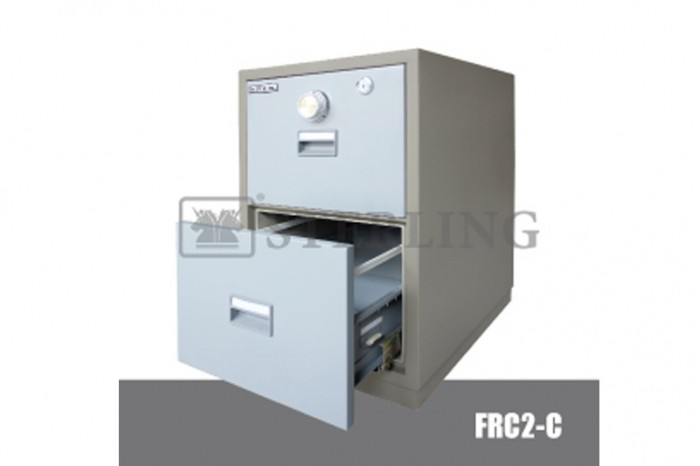 2 Drawer Fire Resistant Cabinet