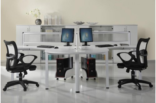 Workstation White Solution