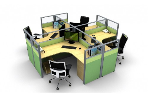 sales & admin cubicle