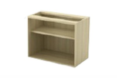 Open Shelf Low Cabinet (W/O TOP AND BASE)
