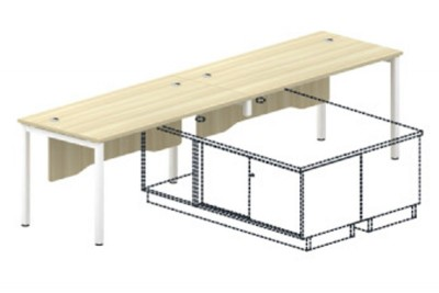 Standard Table (with Wooden Front Panel)