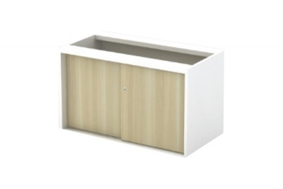 Sliding Door Side Cabinet (W/O TOP AND BASE)