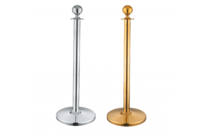Stainless Steel Q-up Stand- Velvet Rope Type