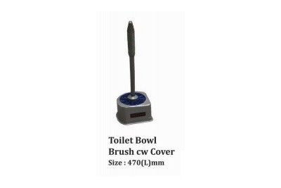 Toilet Bowl Brush cw Cover
