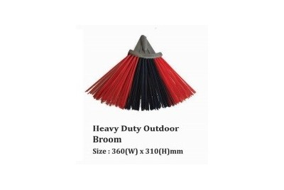 Heavy Duty Outdoor Broom