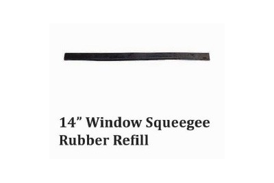 "14"" Window Squeegee Rubber Refill"