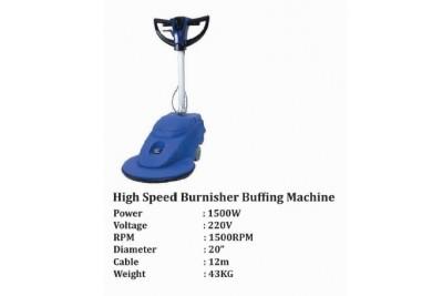 High Speed Burnisher Buffing Machine