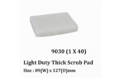 Light Duty Thick Scrub Pad