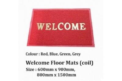 Welcome Floor Mats (coil)