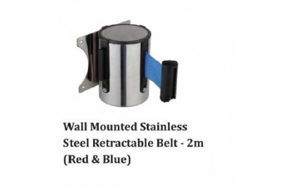 Wall Mounted Stainless Steel Retractable Belt