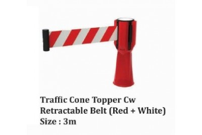 Traffic Cone Stopper cw Retractable Belt