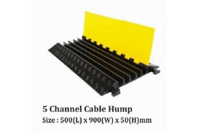 5 Channel Cable Hump