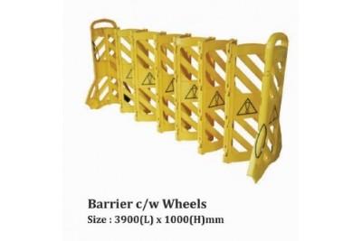 Barrier c/w Wheels