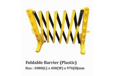Foldable Barrier (Plastic)